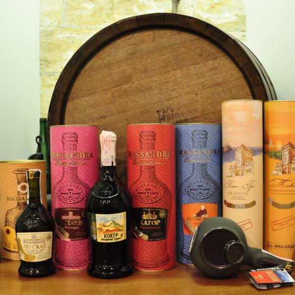Сувенирные вина НПАО Массандра
